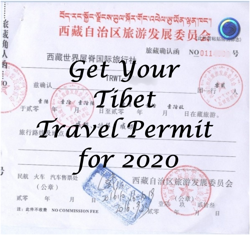 How to Apply For Tibet Travel Permit & Tibet Visa for 2020