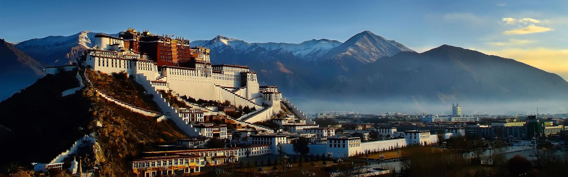 Lhasa, the capital of mysterious Tibet