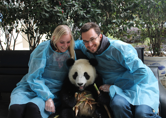 10 Days Golden Triangle Tour with Panda Visit