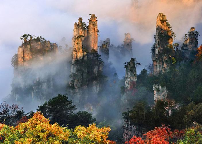 14 Days China Yangtze Tour with Zhangjiajie Landscape
