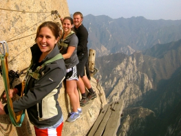 7 Days Great Wall Hike & Mt. Huashan Hike